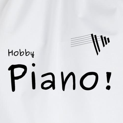 hobby piano tshirt - Turnbeutel