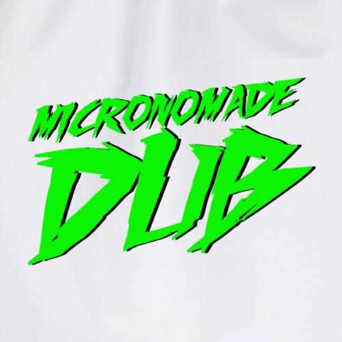 Logo Micronomade 2019 - Mochila saco