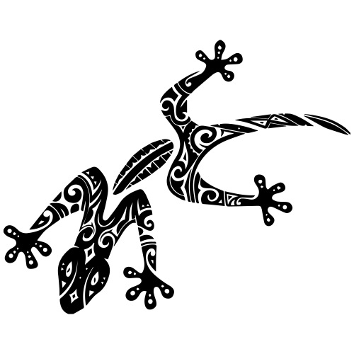Tribal Gecko - Sac de sport léger