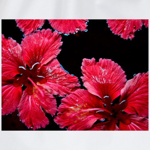 red flowers - Turnbeutel