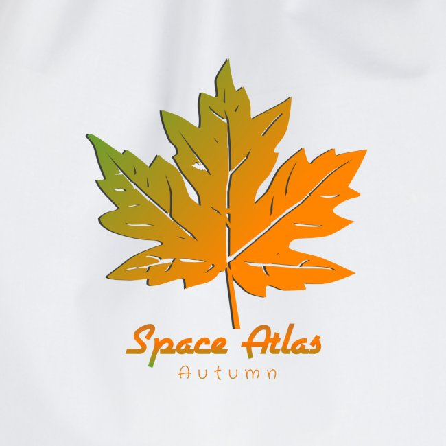 Space Atlas Long Sleeve T-shirt Autumn Leaves