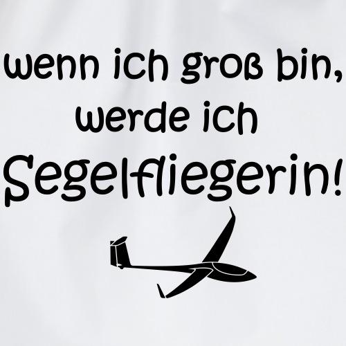 Segelfliegerin Flugplatzkind Flugplatzbaby