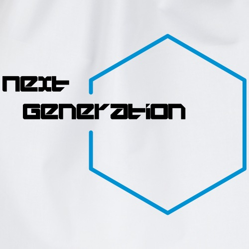 T-SHIRT DESIGN NEXT GENERATION - Turnbeutel