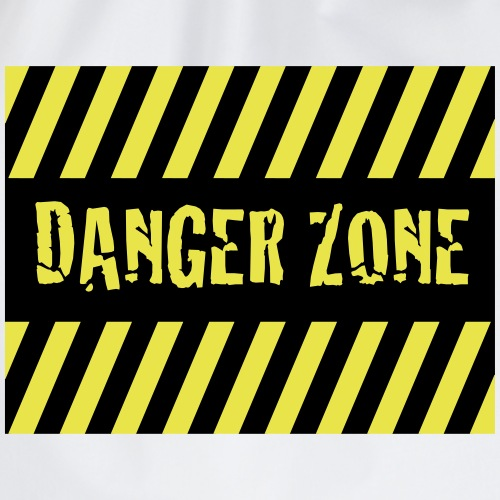 Danger Zone - Turnbeutel