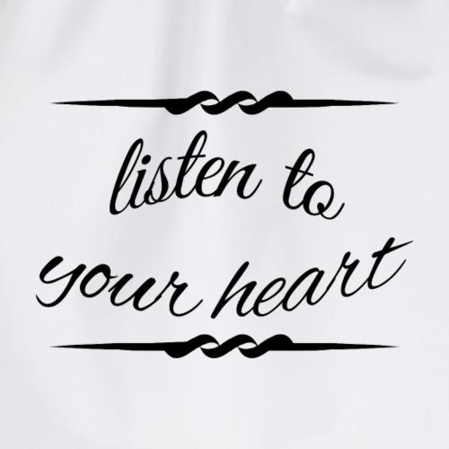 Listen to your heart - Turnbeutel