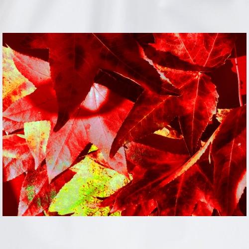foglie d'autunno - Sacca sportiva