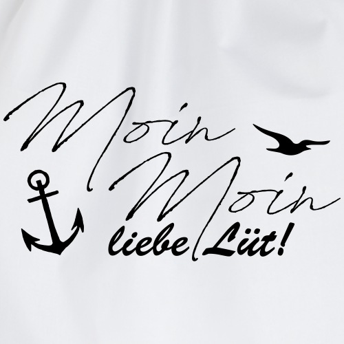 Moin Moin liebe Lüt! - Turnbeutel