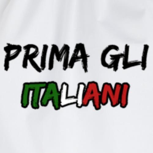 #PRIMA GLI ITALIANI [Mr. Salviny] - Sacca sportiva
