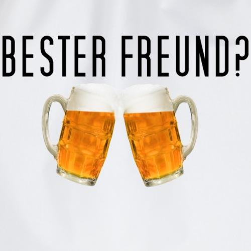 Bester Freund? Bier - Turnbeutel