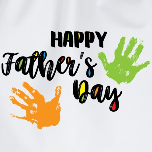 Alles Gute zum Vatertag - Happy Father's Day - Turnbeutel