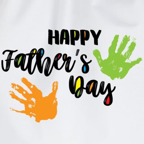 Alles Gute zum Vatertag - Happy Father's Day - Turnbeutel