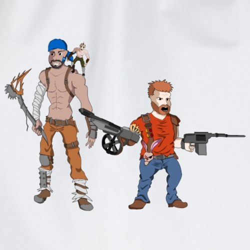 Das Apokalypse Duo Flaul - Turnbeutel