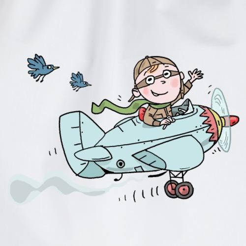 Der kleine Pilot - Turnbeutel