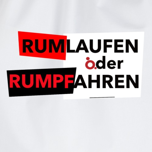 RUMPFAHREN - Turnbeutel