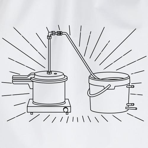 distillation apparatus - Drawstring Bag