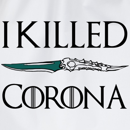 I killed Corona - Turnbeutel