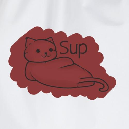 Sup Cat - Drawstring Bag