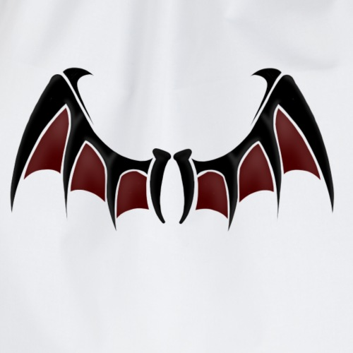 Demon wings - Drawstring Bag