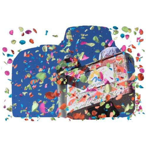 Lancé de confettis à Montluçon - Sac de sport léger
