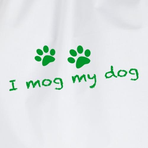 I mog my dog - Turnbeutel