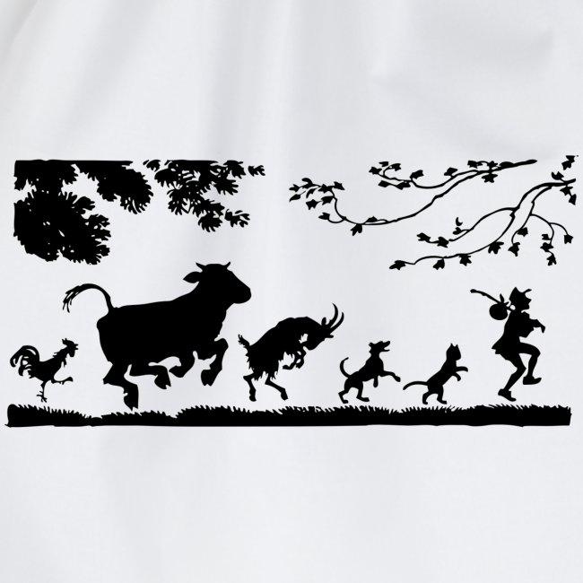 animales caminando