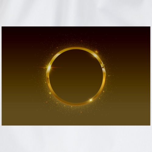 Goldener Ring - Turnbeutel