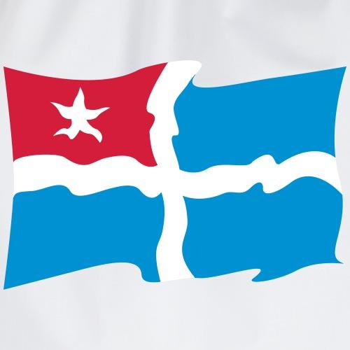 crete flag - Turnbeutel