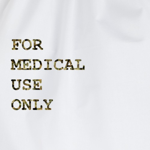 For Medical Use Only - Turnbeutel