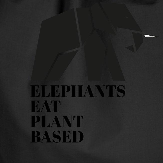 Elefanten sind Pflanzenfresser