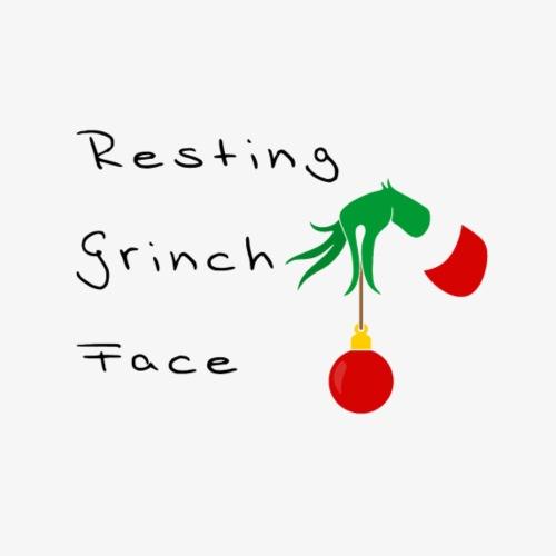 Resting Grinch Face - Turnbeutel