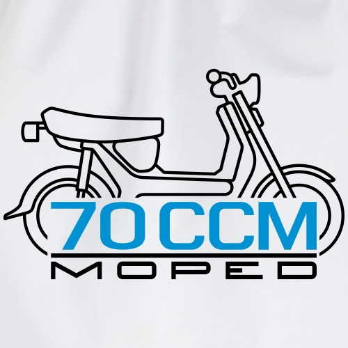 SR50 SR80 70ccm moped emblem - Drawstring Bag