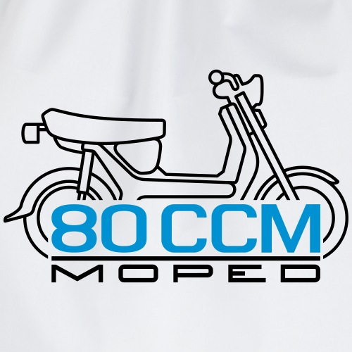 SR50 SR80 80ccm moped emblem - Drawstring Bag
