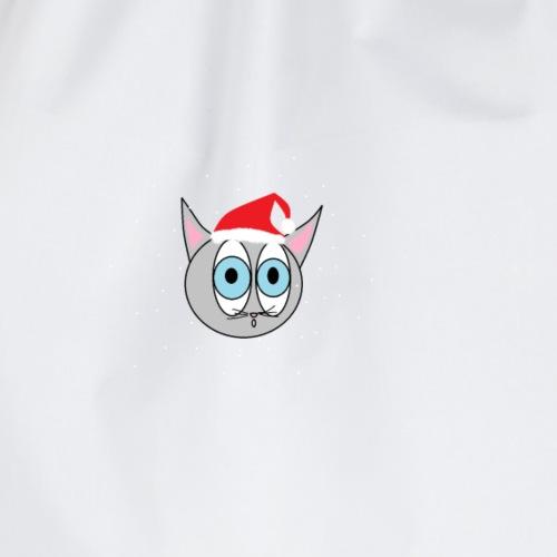 Katze GMBH LOGO - Weihnachtsedition - Turnbeutel
