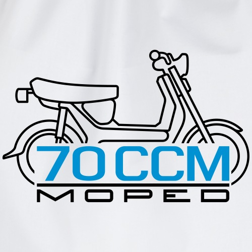 SR50 SR80 70ccm moped emblem - Drawstring Bag