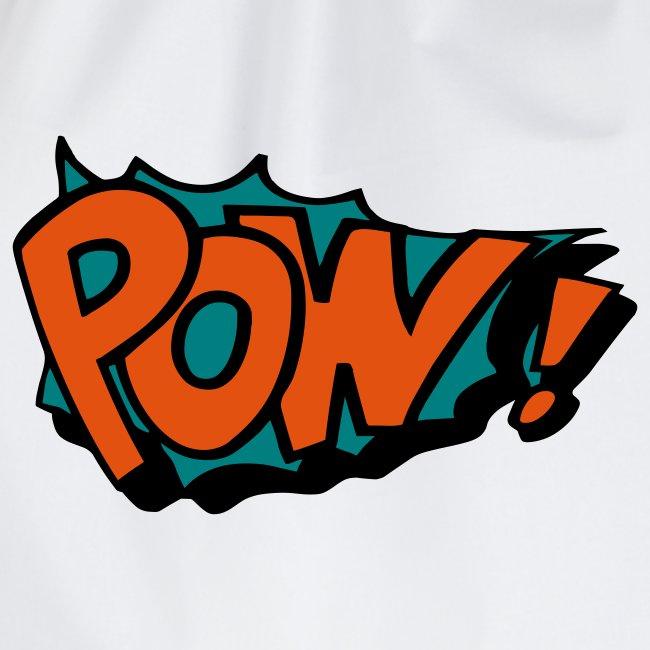 Comic pow!