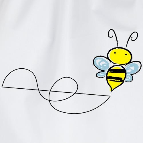 Fliegend Biene - Turnbeutel