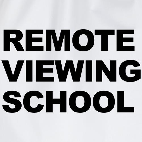 Remote Viewing School Text - Turnbeutel