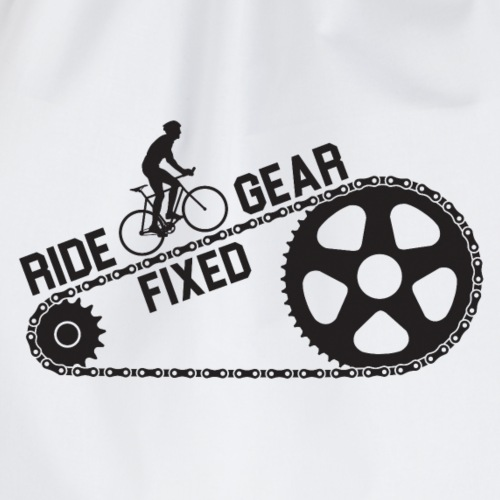 Ride Fixed Gear Cycling T-Shirt - Drawstring Bag