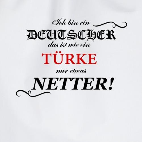 Deutsche netter Joke - Turnbeutel