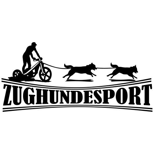 Zughundesport Trike Aufdruck schwarz - Turnbeutel
