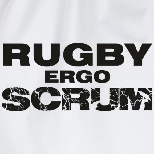 Marplo Rugbyergoscrum blk - Sacca sportiva