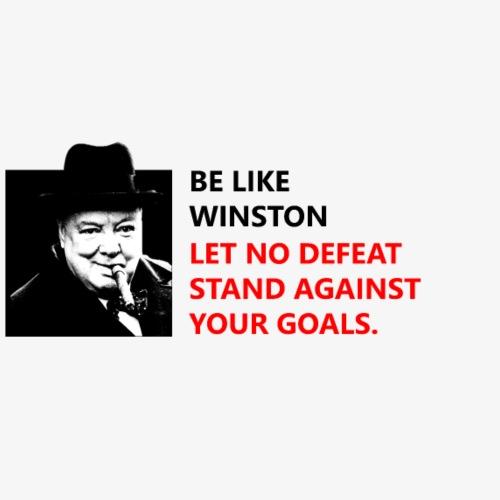 Be like Winston - Sac de sport léger