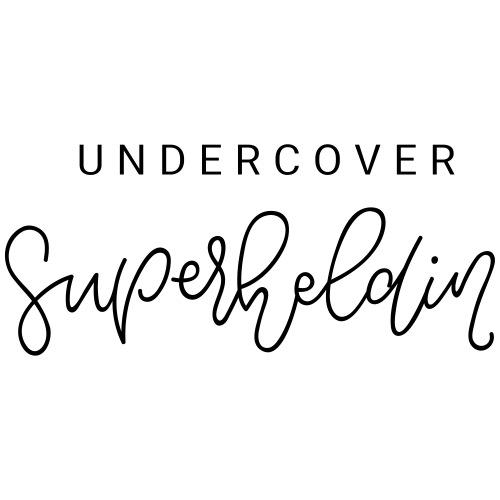 undercover Superheldin - Turnbeutel