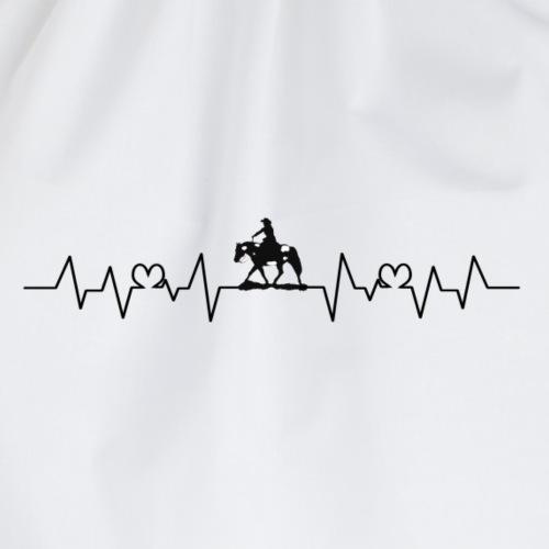 Heartbeat Westernpferd Schecke / Paint Horse - Turnbeutel