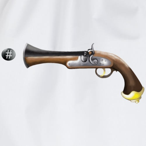 digitaler Schuss - Turnbeutel