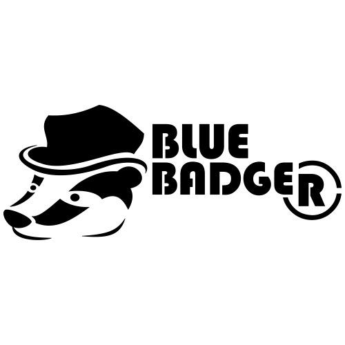 Blue Badger - Drawstring Bag