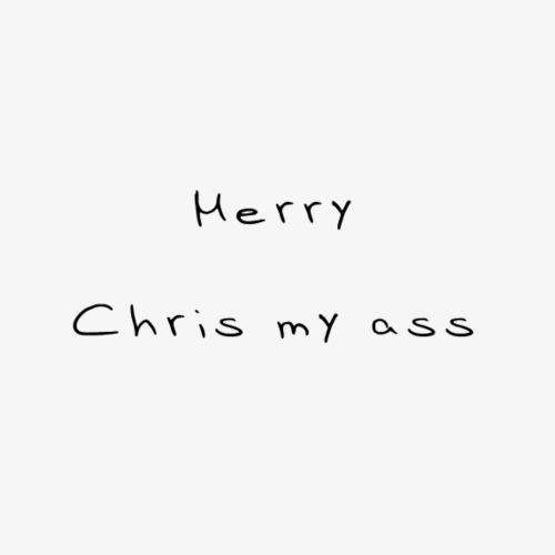 Merry Chrismyass - Turnbeutel