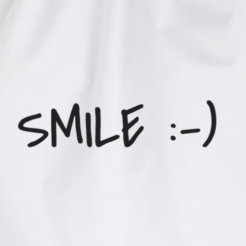 Mundschutz Smile if you can Lächle wenn du kannst - Turnbeutel