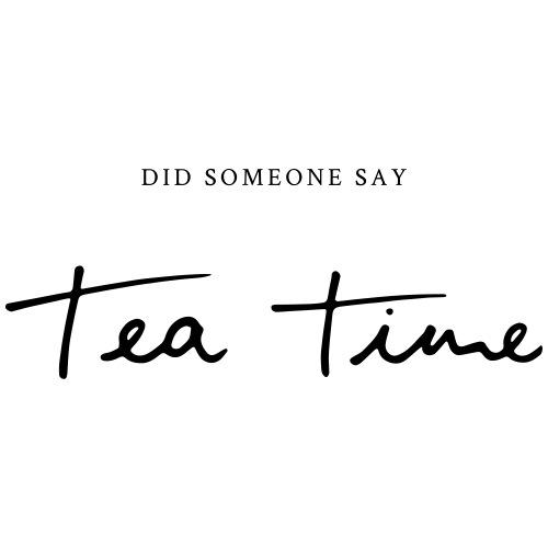 Tea Time - Turnbeutel
