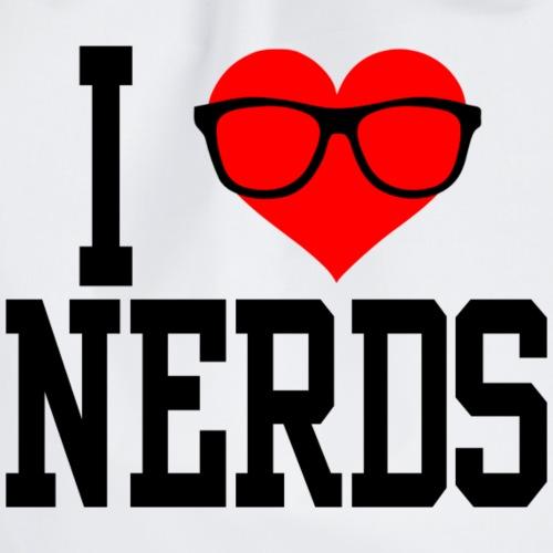 I love nerds - Mochila saco